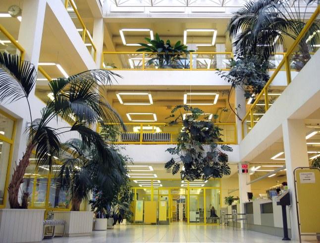 Keltainen kirjasto